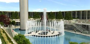 University_at_Albany_Fountain_-_Project_Renderings