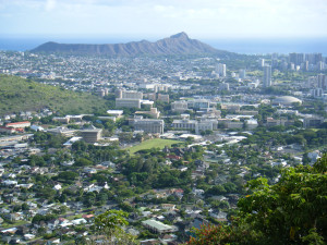 """""""UniversityHawaiiManoaCampusRoundtop"""" by Travis.Thurston - Own work. Licensed under CC BY-SA 3.0 via Wikimedia Commons"""