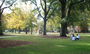 """""""University of South Carolina Horseshoe"""" by Dfscgt21 - Own work. Licensed under CC BY-SA 3.0 via Wikimedia Commons"""