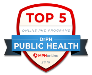 TOP ONLINE PHD IN PUBLIC HEALTH (DRPH) PROGRAMS 2018